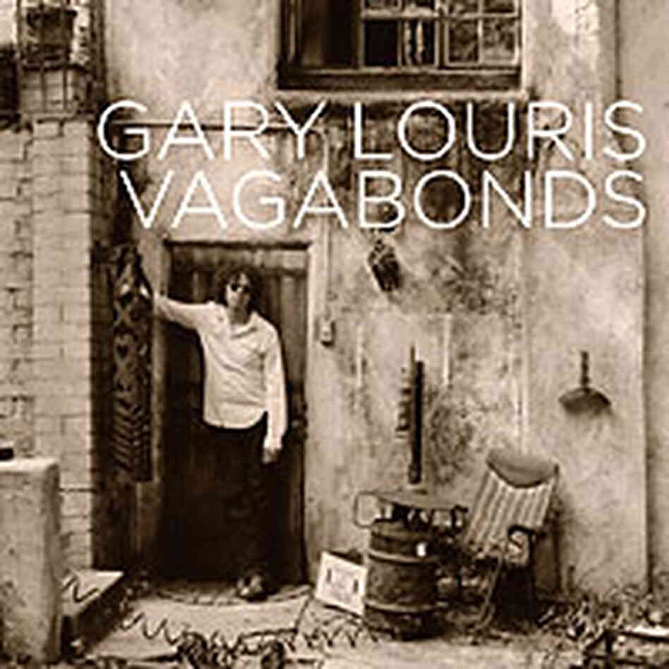 Cover art for the new Gary Louris recording, 'Vagabonds'