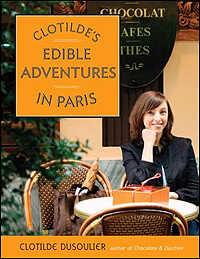"""Book Cover Image - """"Clotilde's Edible Adventures"""""""