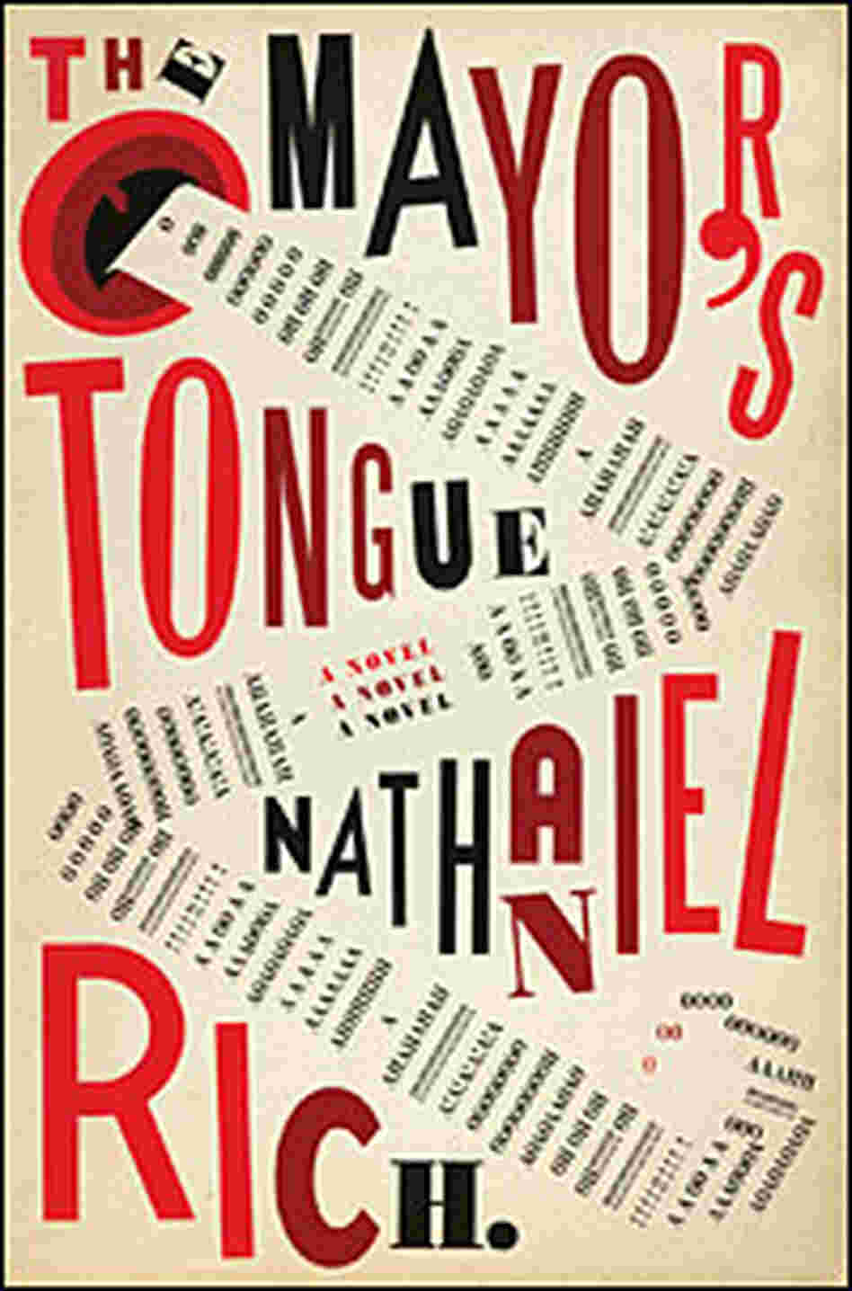 Cover of Nathaniel Rich's 'The Mayor's Tongue'
