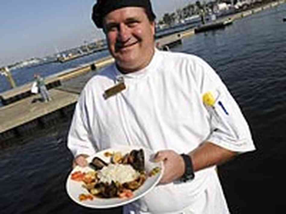 Chef Jim Eriksen of Pusser's Caribbean Grille in Annapolis, Md.