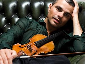 Violinist Laurent Korcia