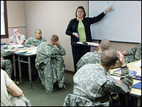 How to join the army with a ged