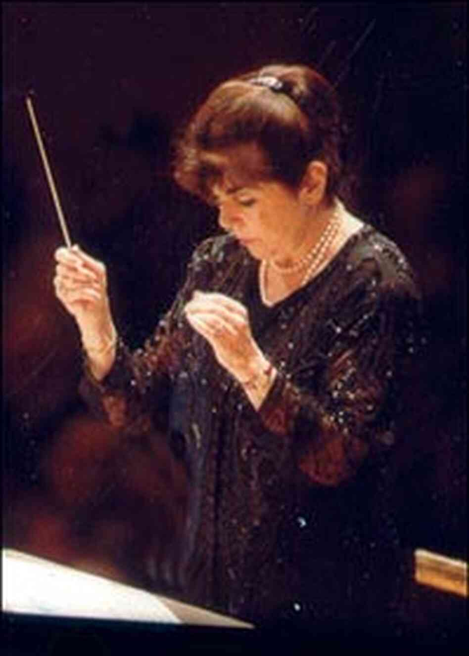 Conductor Eve Queler