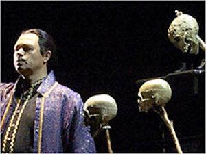 Vladimir Galouzine as Calaf, in 'Turandot'