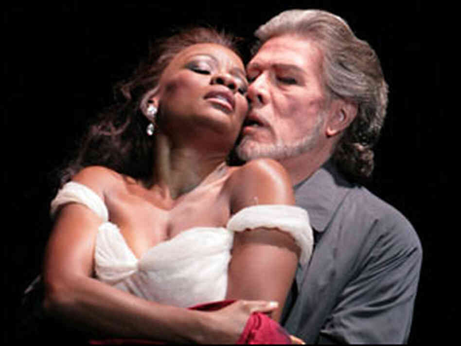 Denyce Graves with Samuel Ramey in 'Bluebeard's Castle'