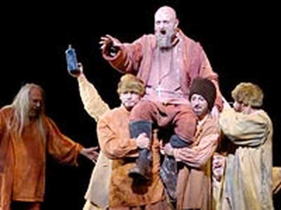 'Boris Godunov' at Houston Grand Opera