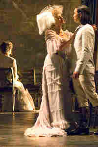 "Nicola Bowie and Scott Chiba  in ""Death in Venice"""