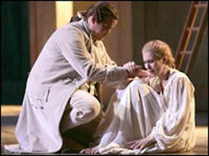 Garrett Sorenson and Alendra Deshorties in 'Don Giovanni'