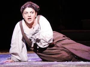 Tamar Iveri as Marguerite in 'Faust.'