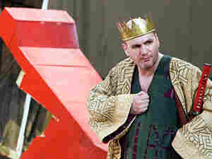 "John Mark Ainsley in the title role of ""Idomeneo."""