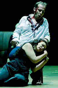 Stephane Degout as Oreste and Mireille Delunsch as his sister Iphigenie