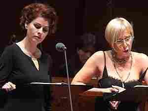 Romina Basso and Manuela Custer