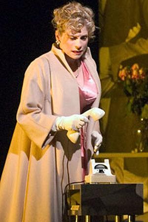 """Amy Burton in Poulenc's """"La Voix Humaine."""""""