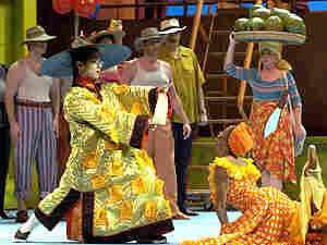 Salsipuedes receives its world premiere at Houston Grand Opera.