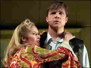 Angelika Kirchschlager and Rod Gilfry in 'Sophie's Choice'