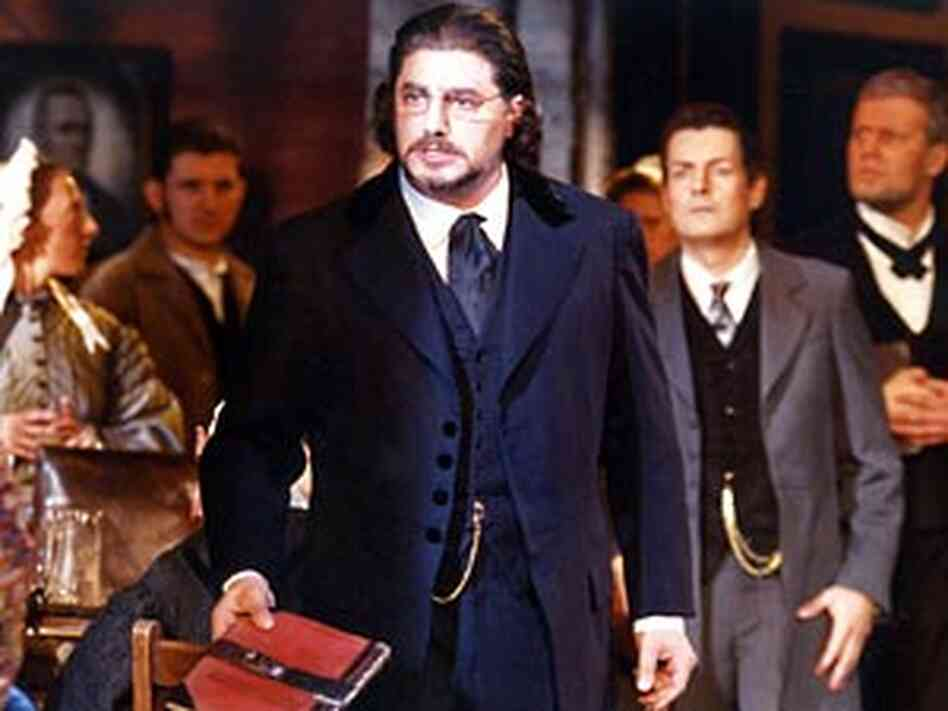 Tenor Jose Cura as Stiffelio