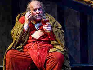 Bass-baritone Bryn Terfel as Falstaff