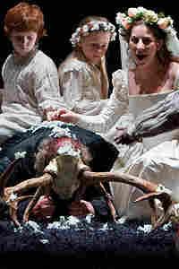 """Claire Ormshaw in the final scene of Verdi's """"Falstaff."""""""