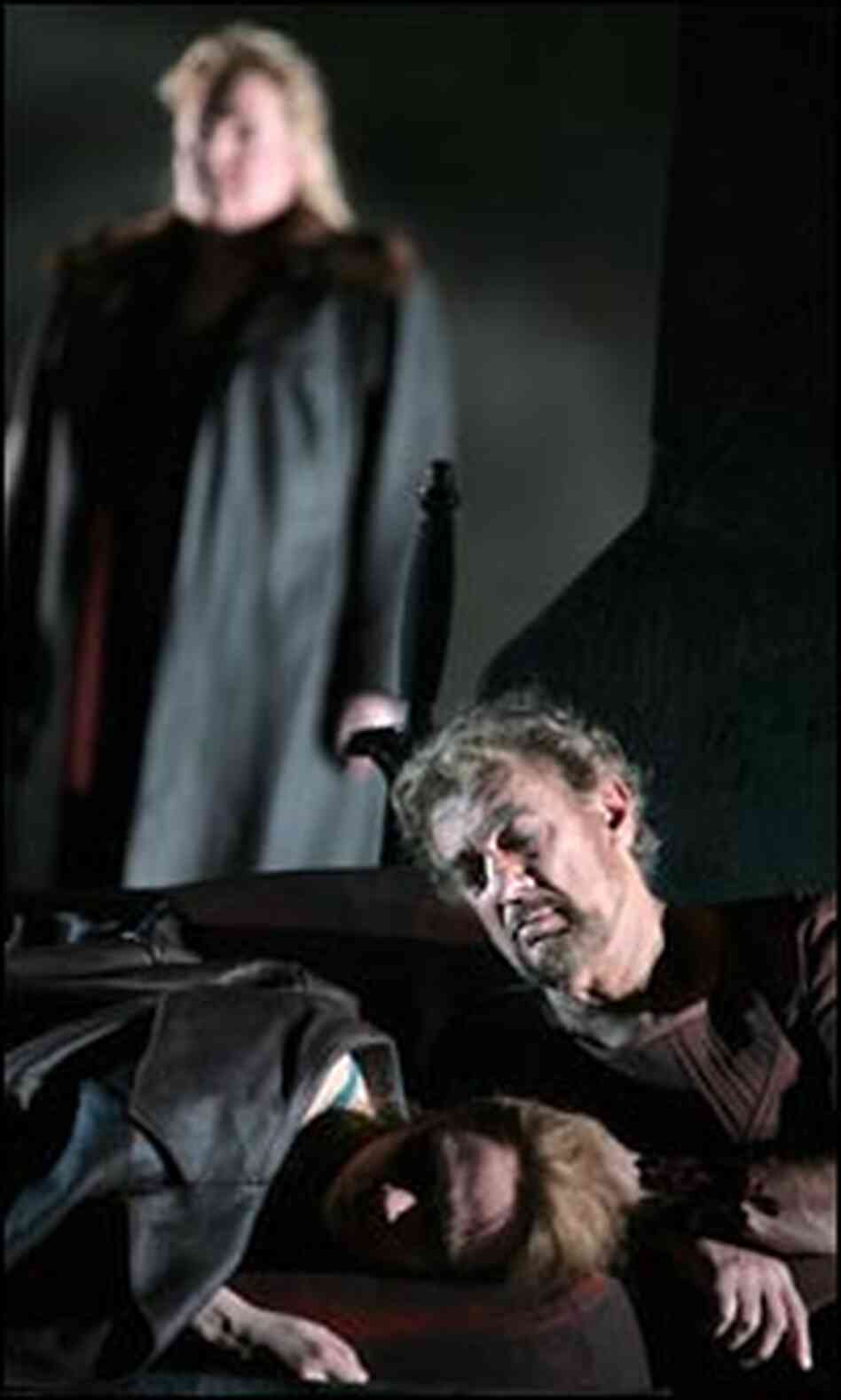 Alan Held as the god Wotan