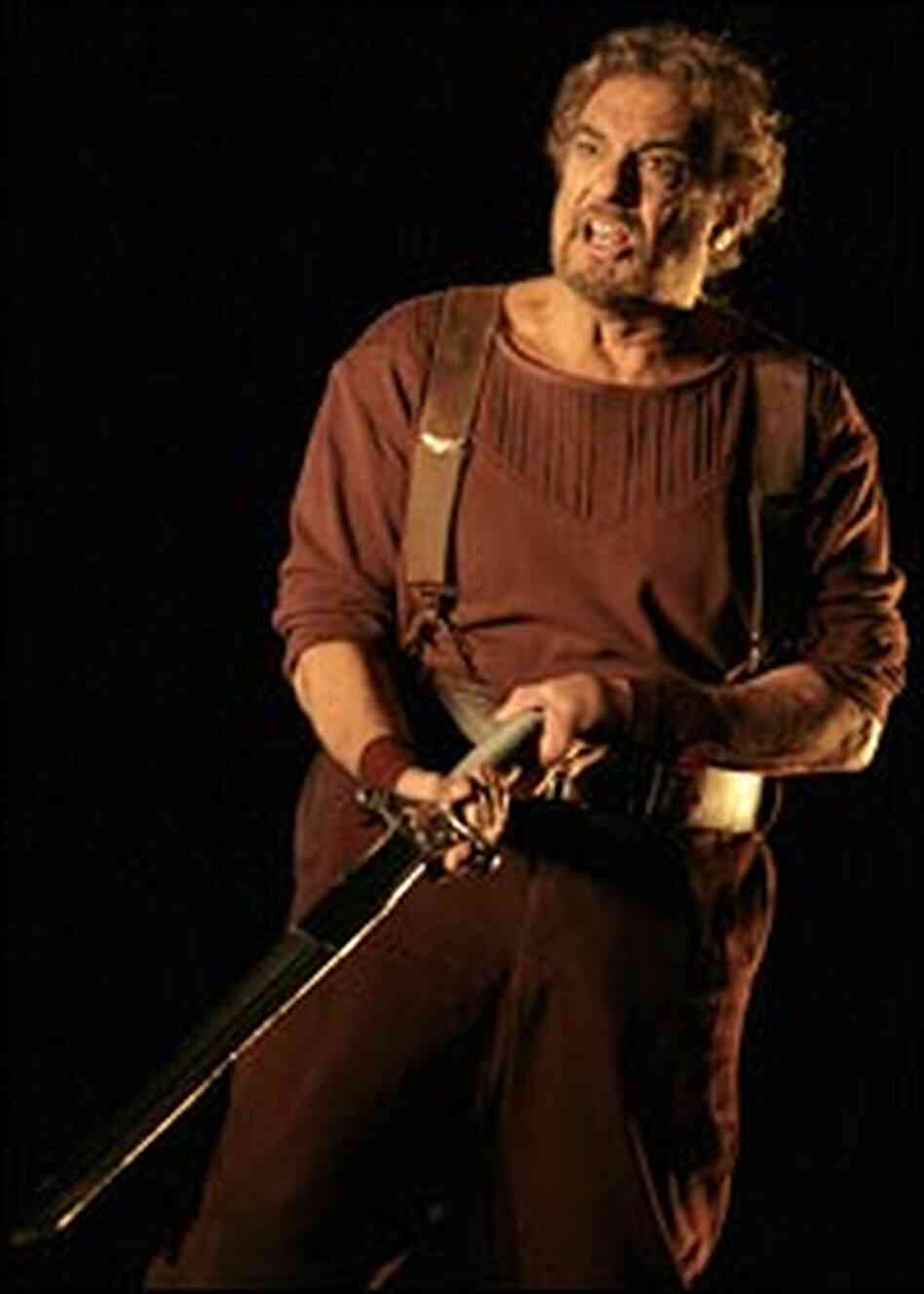 Placido Domingo as Siegmund