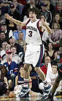 Adam Morrison of Gonzaga.