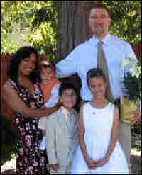 Michael Gabby and his family