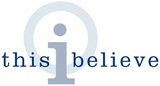 'This I Believe' logo