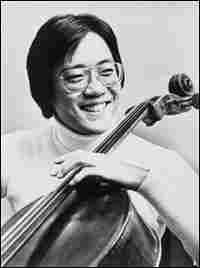 Cellist Yo-Yo Ma pictured in the 1970s.