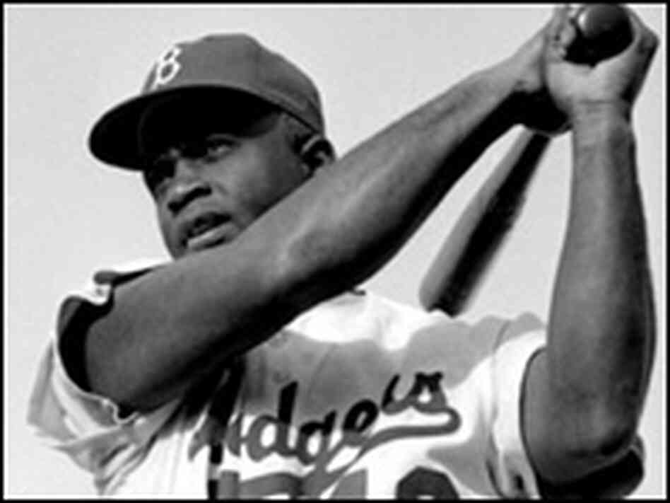 Baseball player Jackie Robinson