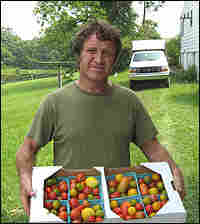 Tim Stark grows tomatoes, peppers, corn, peas, beets and whatever else he chooses at Eckerton Hill F